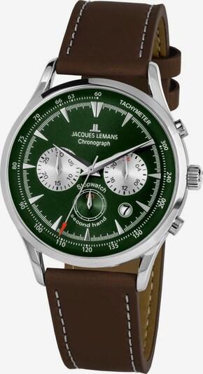 Jacques Lemans Jacques Lemans Chronograph »Retro Classic, 1-2068D« in dunkelbraun / grün, Produktansicht