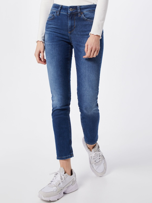 LIU JO JEANS Jeans 'B.UP MONROE REG.W.' in blue denim: Frontalansicht
