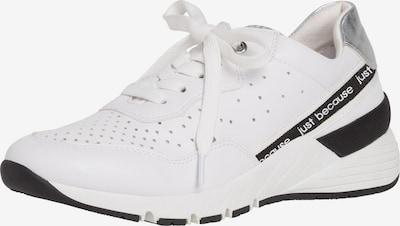 MARCO TOZZI Sneaker in schwarz / weiß, Produktansicht