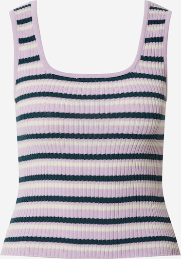 EDITED Top 'Juliana' in lila / rosa / offwhite, Produktansicht