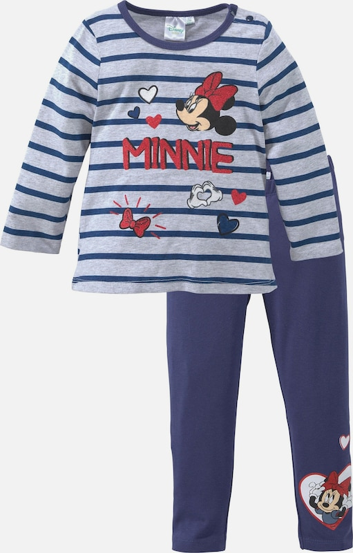 DISNEY Set in navy / grau, Produktansicht