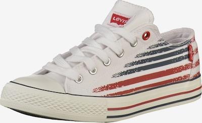 LEVI'S Sneaker in blau / rot / weiß, Produktansicht