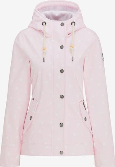 Schmuddelwedda Softshell-Anorak in pink / rosa, Produktansicht
