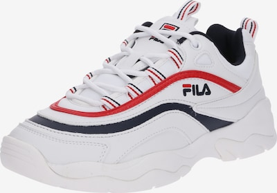 FILA Sneakers laag 'Ray Low Wmn' in de kleur Navy / Rood / Wit, Productweergave