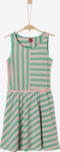s.Oliver Kleid in pastellgrün / rosa, Produktansicht