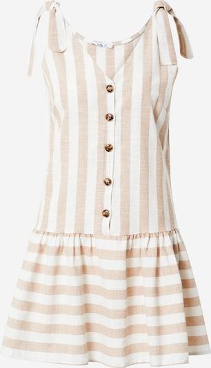 Hailys Letnia sukienka 'Alani' w kolorze cielisty / białym, Podgląd produktu