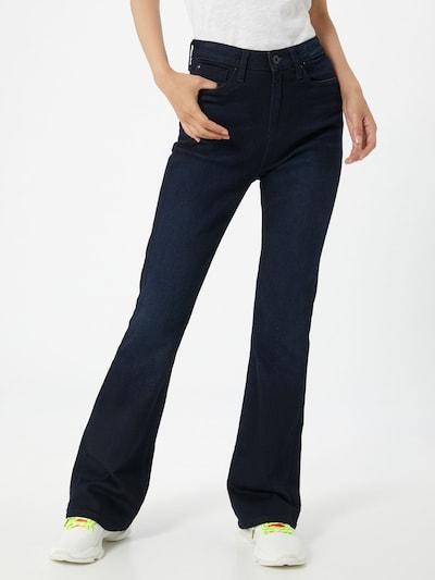 Pepe Jeans Jean 'DION FLARE' en bleu foncé: Vue de face