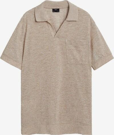 MANGO MAN Poloshirt in beige, Produktansicht