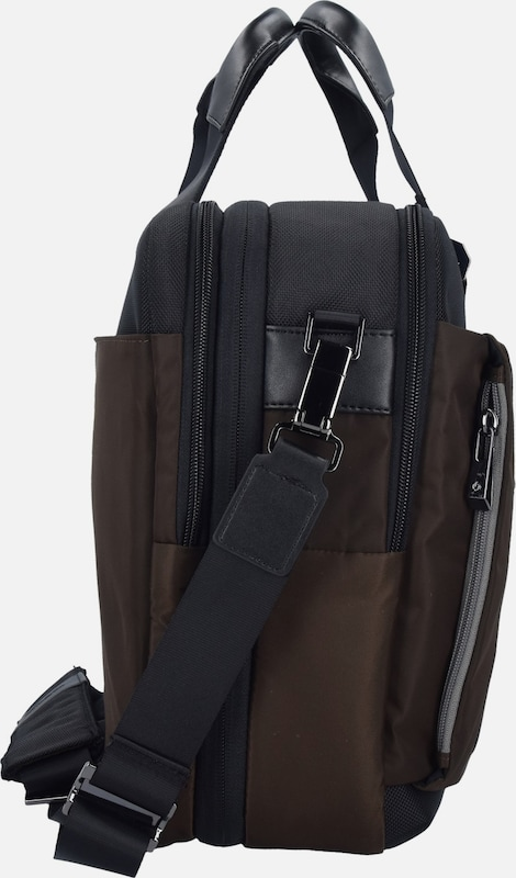 SAMSONITE Openroad Aktentasche Leder 45 cm Laptopfach