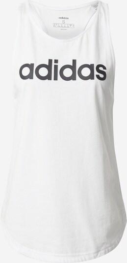 ADIDAS PERFORMANCE Sporttop 'Essentials Linear' in de kleur Zwart / Wit, Productweergave