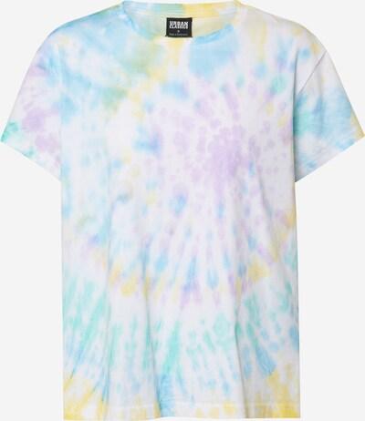 Urban Classics Majica 'Ladies Tie Dye Boyfriend Tee' u miks boja, Pregled proizvoda