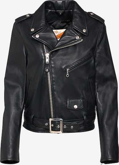 Schott NYC Jacke in schwarz, Produktansicht
