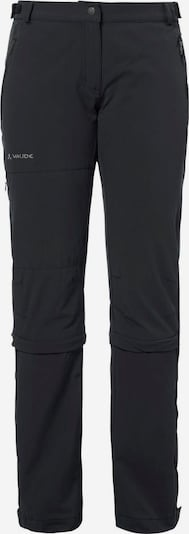 VAUDE Softshellhose 'Farley' in schwarz, Produktansicht