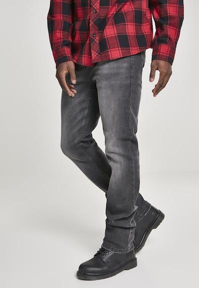 Brandit Jeans 'Rover' in de kleur Black denim, Modelweergave