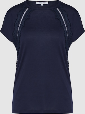 ABOUT YOU Shirt 'Mirja' in Donkerblauw