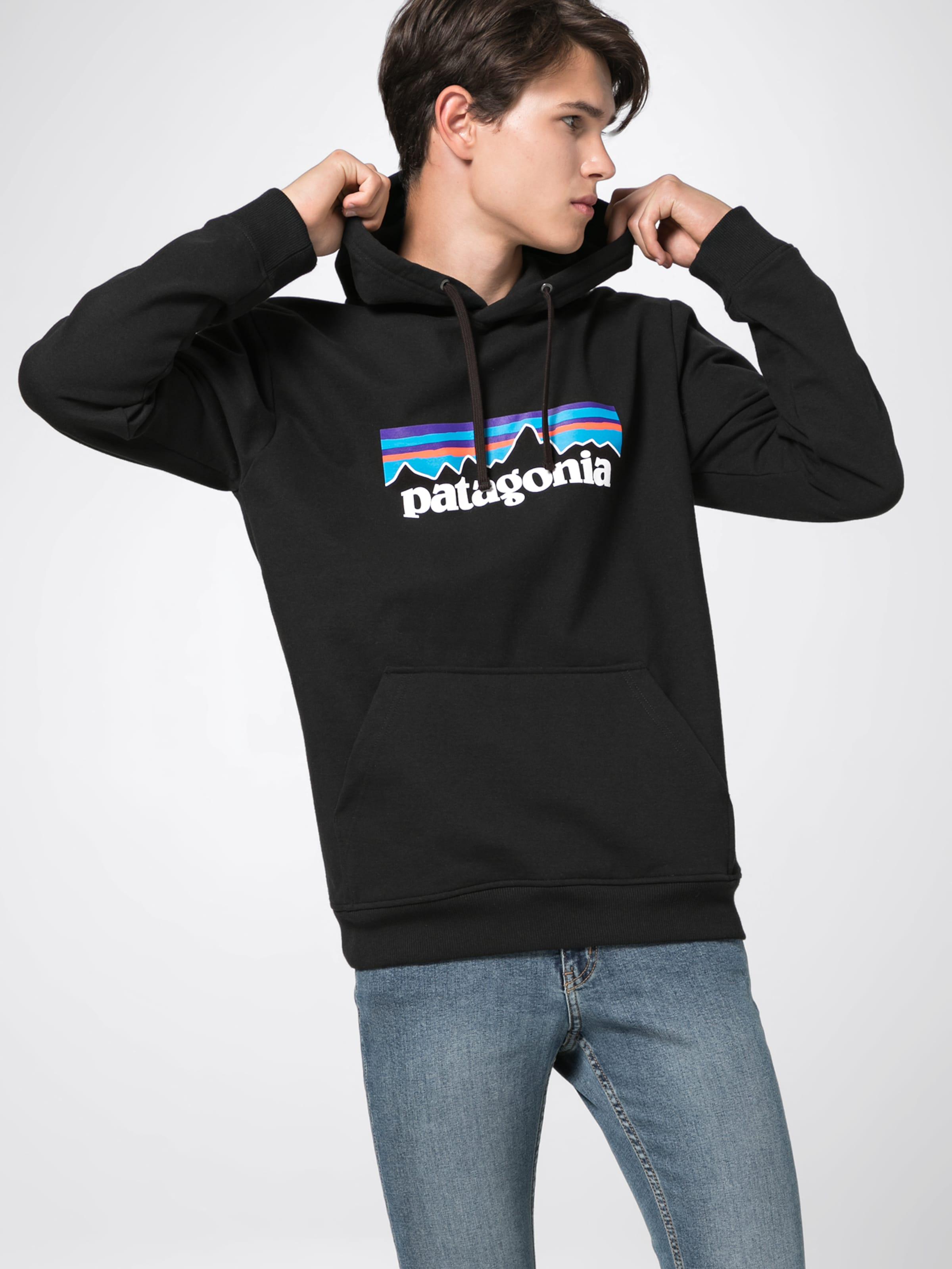 P Weiß 'm's BlauSchwarz Hoodie Uprisal' 6 Patagonia Logo In 8wnvN0Om