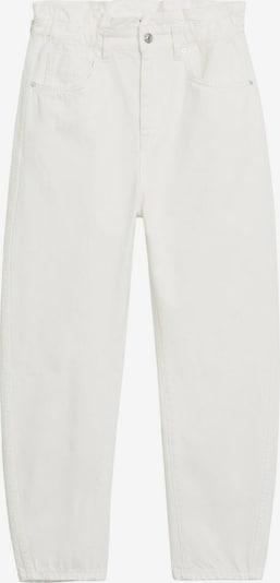 MANGO Jean en blanc, Vue avec produit