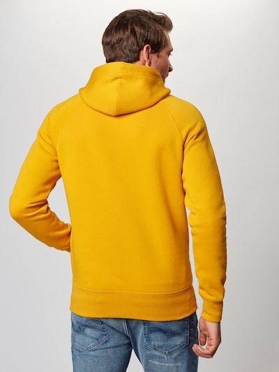 GANT Sweatshirt in goldgelb: Rückansicht