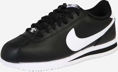 Nike Sportswear Baskets basses 'Cortez' en noir / blanc, Vue avec produit