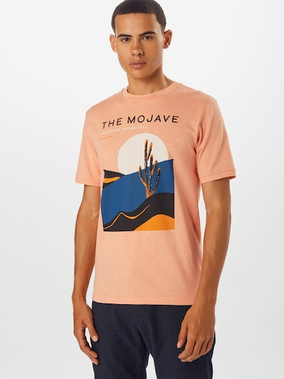 SELECTED HOMME Tričko 'CALI' - svetlooranžové: Pohľad spredu