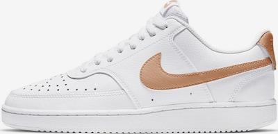 Nike Sportswear Nike Sportswear Sneaker »Wmns Court Vision Low« in braun / weiß, Produktansicht