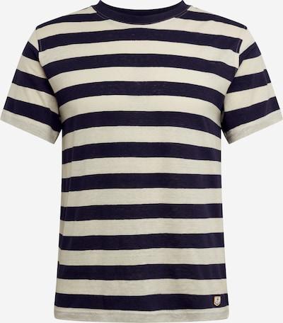 Armor Lux T-Shirt en bleu foncé / blanc cassé, Vue avec produit