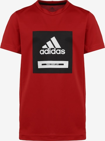 ADIDAS PERFORMANCE T-Shirt  'Bold' in Rot