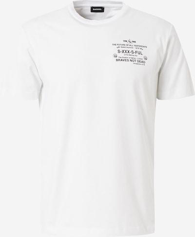 DIESEL T-Shirt in weiß: Frontalansicht