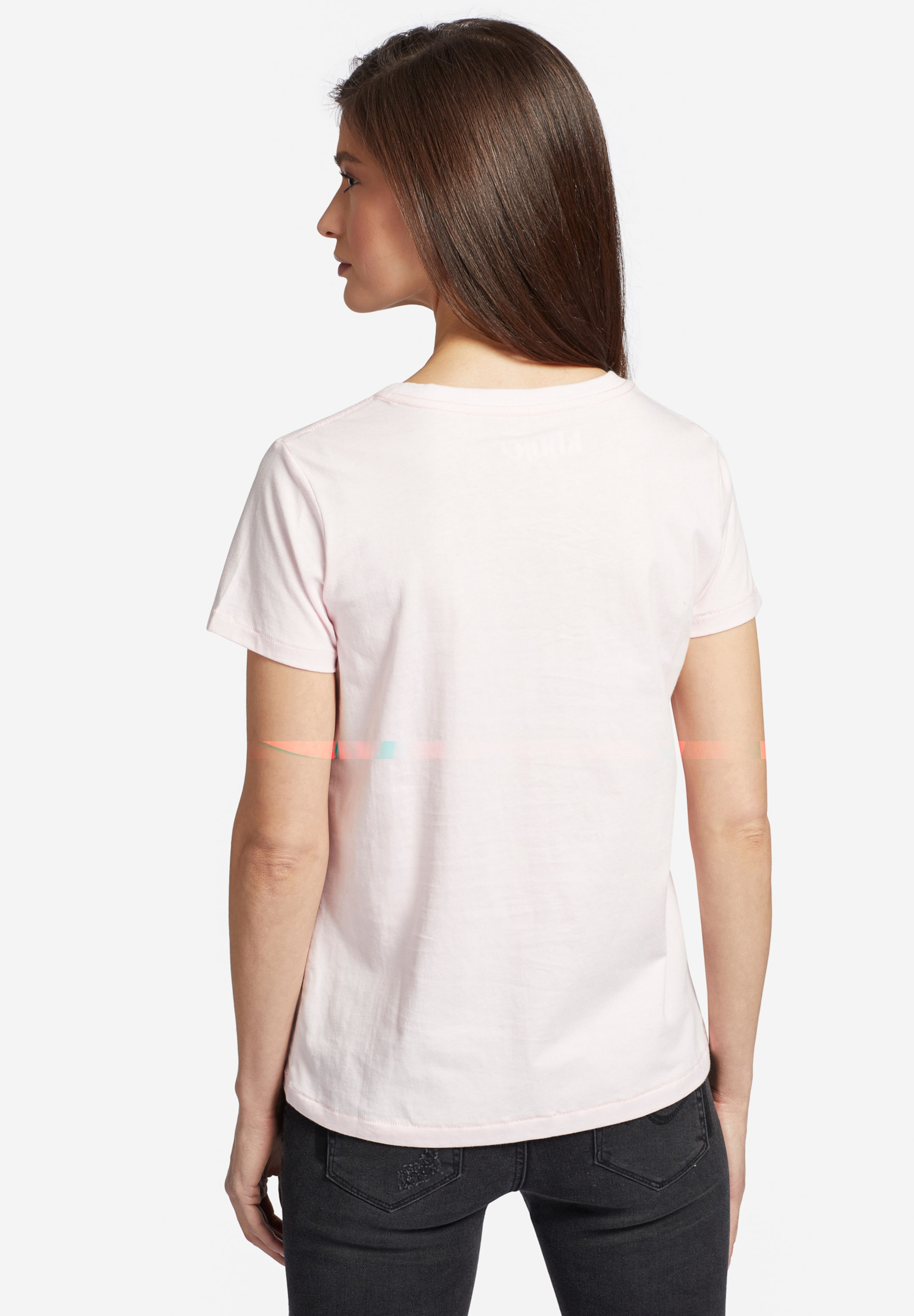 T shirt 'brooke HimmelblauRosa Khujo In Pitaya Logo' EDH9I2