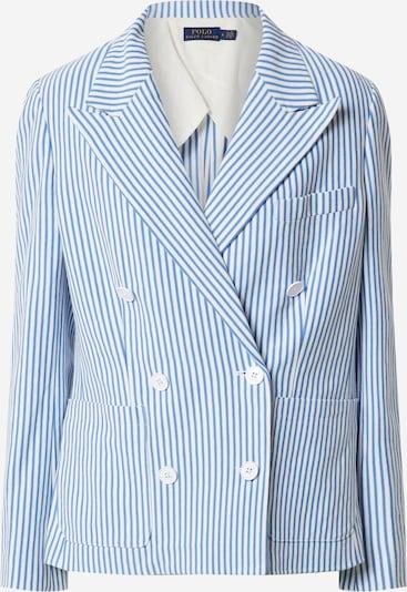 POLO RALPH LAUREN Blazer in hellblau / weiß, Produktansicht