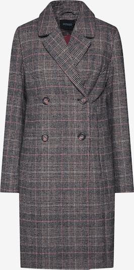 SOAKED IN LUXURY Mantel in braun / grau, Produktansicht