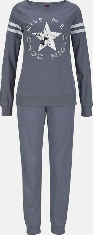 BUFFALO Langer Pyjama im Sports-Look