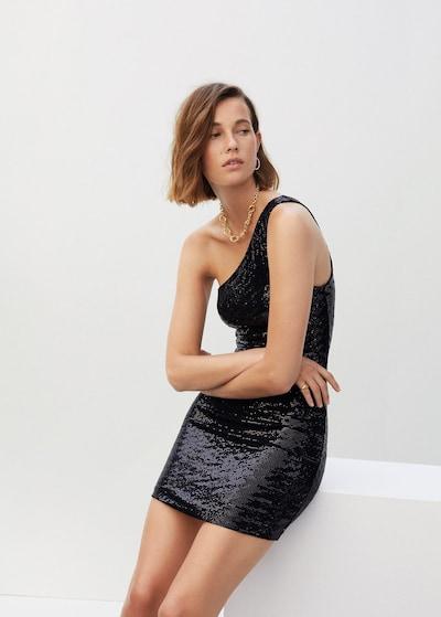 MANGO Kleid 'Asim' in schwarz, Modelansicht