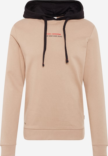 JACK & JONES Sweatshirt 'JCOMEX SWEAT HOOD' in de kleur Sand, Productweergave
