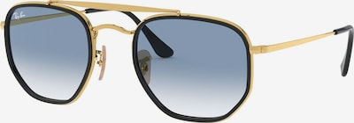 Ray-Ban Sonnenbrille 'THE MARSHAL II' in blau / gold, Produktansicht