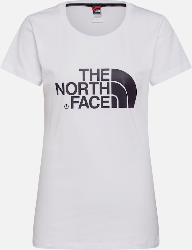 THE NORTH FACE Shirt 'S/S Easy Tee' in weiß, Produktansicht