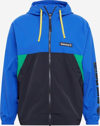 TIMBERLAND Jacke 'YC Trail Windbreaker' in blau / mint / schwarz, Produktansicht