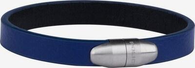 POLICE Armband 'Lapa, PJ26351BLSN.02-L' in saphir / silber, Produktansicht