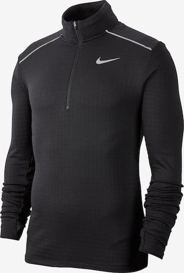 NIKE Functioneel shirt '3.0.' in de kleur Zwart / Zilver, Productweergave