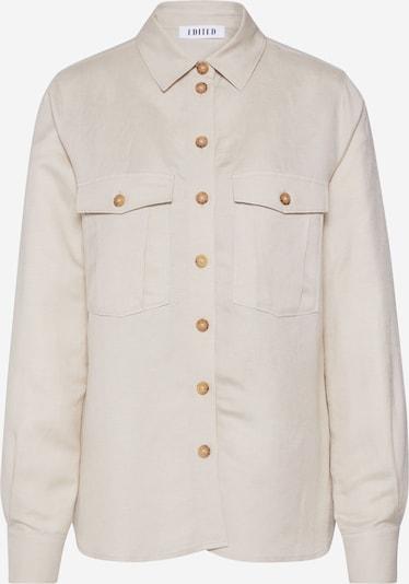 EDITED Bluse 'Genia' in hellbeige / weiß / offwhite, Produktansicht