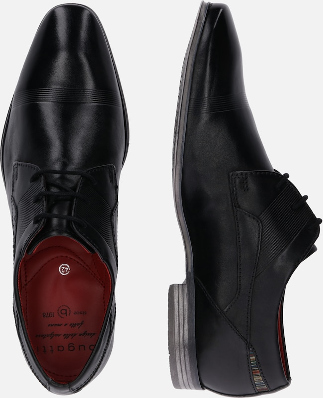 À Lacets En Chaussure Noir Bugatti 'morino' cFKJlT13u