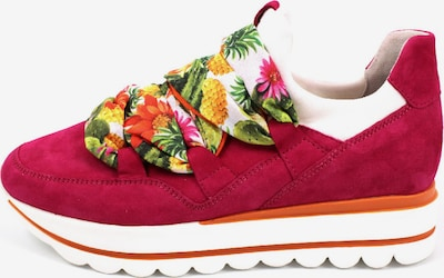GABOR Sneaker in orange / fuchsia, Produktansicht