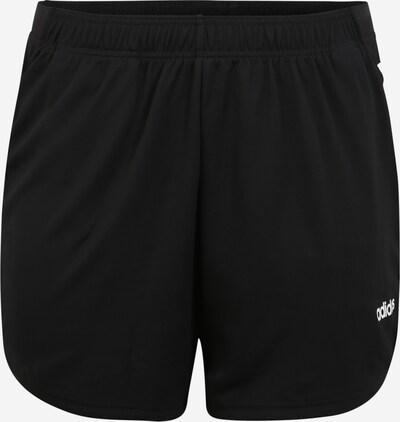 ADIDAS PERFORMANCE Sporthose 'W D2M INC' in schwarz / weiß, Produktansicht
