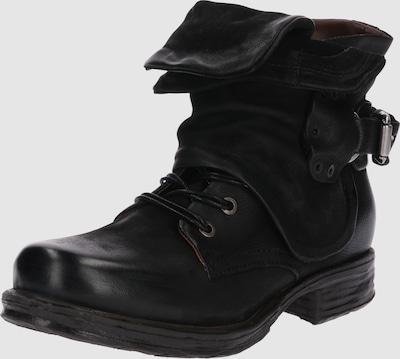 A.S.98 Boots 'SAINTEC' in Zwart