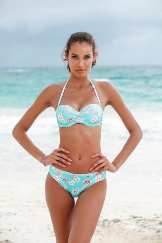 SUNSEEKER Bikinitopp 'Ditsy' i blå