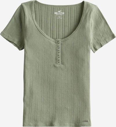HOLLISTER Shirt 'SS VAR RIB HENLEY' in oliv, Produktansicht