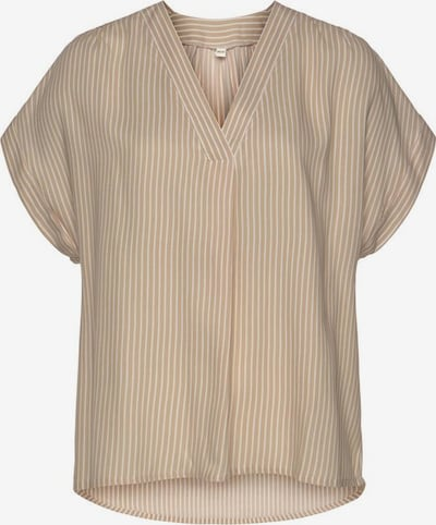 VIVANCE Blouse in Sand / White, Item view