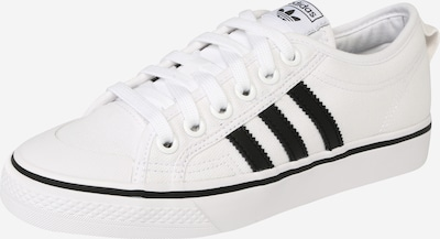 ADIDAS ORIGINALS Sneakers low 'Nizza' in Black / White, Item view