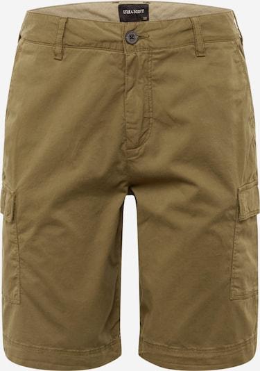 Pantaloni cu buzunare Lyle & Scott pe brocart: Privire frontală