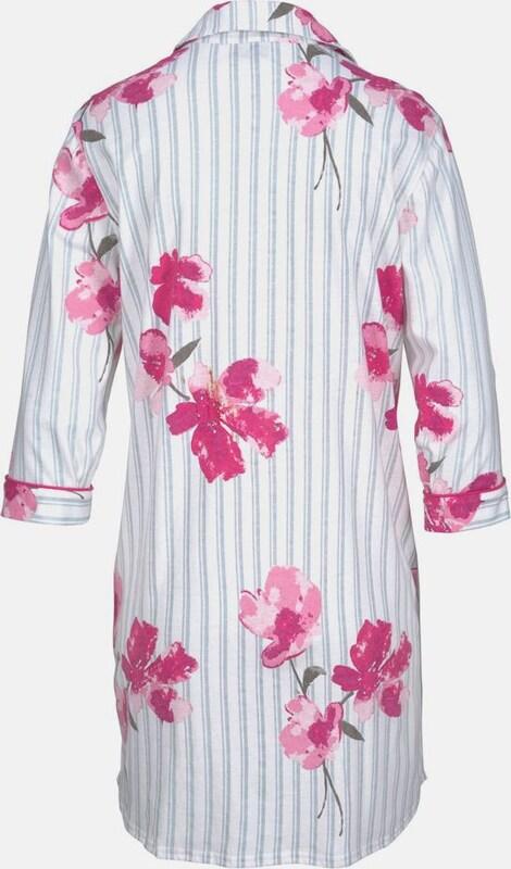 VIVANCE Vivance Dreams Nachthemd mit Streifen und Blumenprint